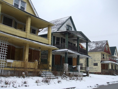 ABANDONED HOMES AFTER BEING FORECLOSED
