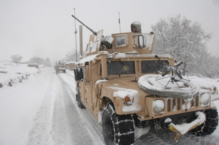 AMERICAN FORCES IN JALOKHEYL, KAPISA PROVINCE, AFGHANISTAN