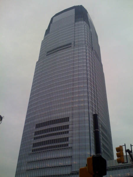 GOLDMAN SACHS TOWER -- NEW YORK CITY