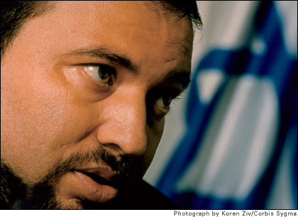 AVIGDOR LIEBERMAN, WHOSE PARTY CAPTURED 15 SEATS IN THE KNESSET, FOUR MORE THAN IN THE PREVIOUS KNESSET