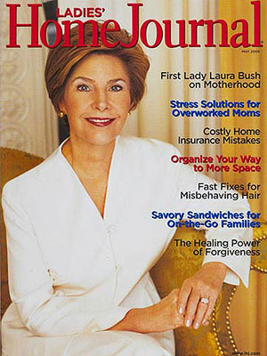 Laura bush gay rights